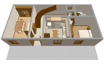 Apartament A-179-a - Apartamenty Lumbarda (Korčula) - 179