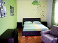 Korčula, Bedroom 2 u smještaju tipa apartment, dopusteni kucni ljubimci i WIFI.
