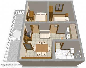 Apartment A-184-a - Apartments Zavalatica (Korčula) - 184