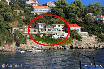 Property Zavalatica (Korčula) - Accommodation 184 - Apartments near sea.