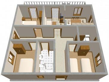 Apartament A-185-a - Apartamenty Zavalatica (Korčula) - 185