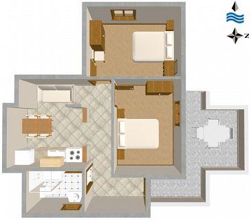 Apartment A-189-a - Apartments Zavalatica (Korčula) - 189