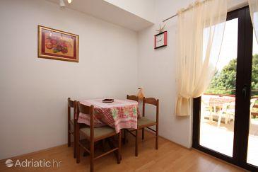 Supetarska Draga - Gonar, Dining room u smještaju tipa apartment, WIFI.