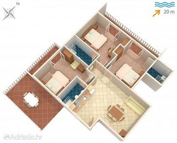 Apartment A-2018-c - Apartments Supetarska Draga - Donja (Rab) - 2018