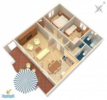 Apartament A-2034-a - Apartamenty Poljica (Trogir) - 2034