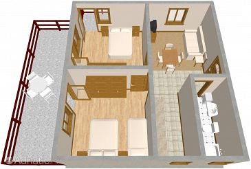 Apartment A-2036-a - Apartments Marina (Trogir) - 2036