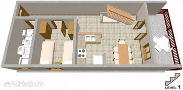 Apartment A-2037-a - Apartments Seget Vranjica (Trogir) - 2037