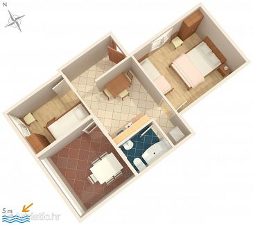 Apartment A-2054-b - Apartments Ražanj (Rogoznica) - 2054