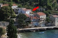 Seaside Robinson apartments Uvala Tvrdni Dolac (Hvar) - 2056