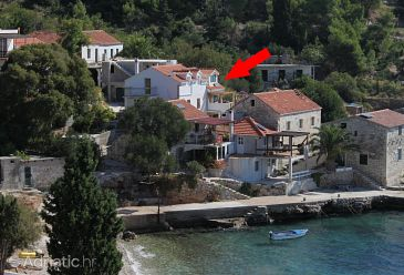 Property Uvala Tvrdni Dolac (Hvar) - Accommodation 2056 - Apartments near sea with pebble beach.