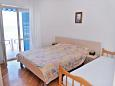 Bedroom - Apartment A-206-b - Apartments and Rooms Metajna (Pag) - 206