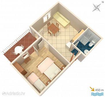 Apartment A-2062-a - Apartments Jelsa (Hvar) - 2062