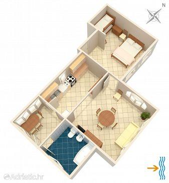 Apartment A-2073-c - Apartments Uvala Pokrivenik (Hvar) - 2073