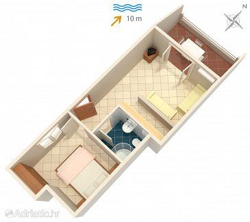 Apartment A-2074-c - Apartments Basina (Hvar) - 2074