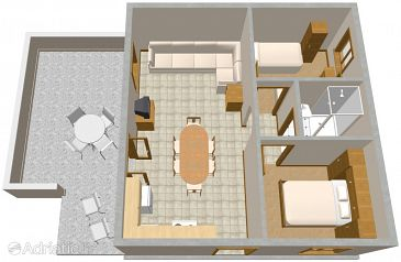 Apartment A-2089-a - Apartments Nečujam (Šolta) - 2089