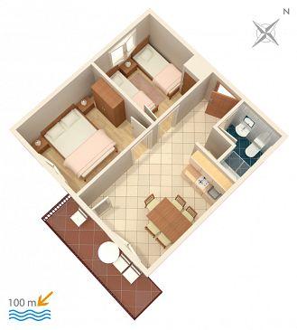 Apartament A-2095-a - Apartamenty Vinišće (Trogir) - 2095