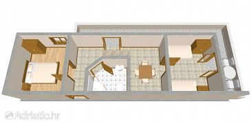 Apartment A-2100-b - Apartments Ražanj (Rogoznica) - 2100