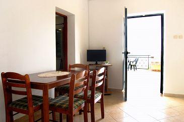 Okrug Donji, Dining room u smještaju tipa apartment, dostupna klima i WIFI.