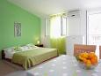Bedroom - Studio flat AS-2104-a - Apartments Rastići (Čiovo) - 2104