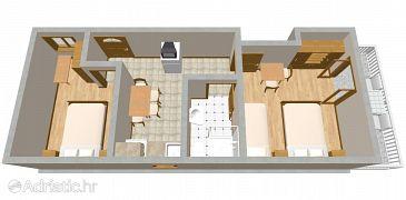 Apartment A-2106-a - Apartments Zaton Mali (Dubrovnik) - 2106