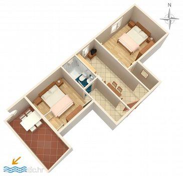 Apartment A-211-d - Apartments Novalja (Pag) - 211