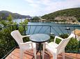 Balcony - Apartment A-2124-a - Apartments and Rooms Zaton Mali (Dubrovnik) - 2124