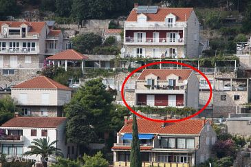Property Dubrovnik (Dubrovnik) - Accommodation 2128 - Apartments with pebble beach.