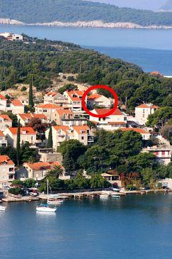 Dubrovnik, Dubrovnik, Obiekt 2142 - Kwatery przy morzu ze żwirową plażą.