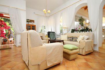 Mlini, Living room 1 u smještaju tipa house, dostupna klima i WIFI.