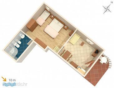 Studio flat AS-2146-a - Apartments Srebreno (Dubrovnik) - 2146