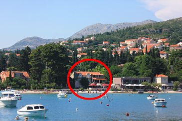 Property Srebreno (Dubrovnik) - Accommodation 2146 - Apartments near sea with pebble beach.
