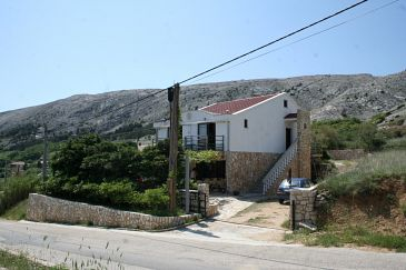 Property Pag (Pag) - Accommodation 217 - Apartments and Rooms with pebble beach.