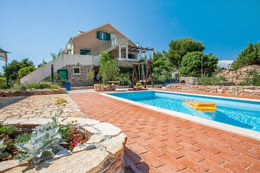 Property Osibova (Brač) - Accommodation 2172 - Apartments with pebble beach.