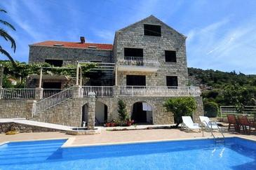 Property Orašac (Dubrovnik) - Accommodation 2177 - Apartments with pebble beach.
