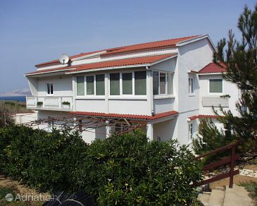 Property Pag (Pag) - Accommodation 218 - Apartments near sea with sandy beach.
