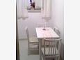 Koločep, Dining room u smještaju tipa apartment, dopusteni kucni ljubimci i WIFI.