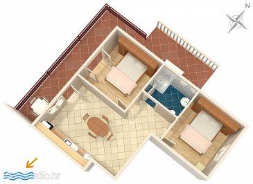 Apartment A-219-b - Apartments Prižba (Korčula) - 219