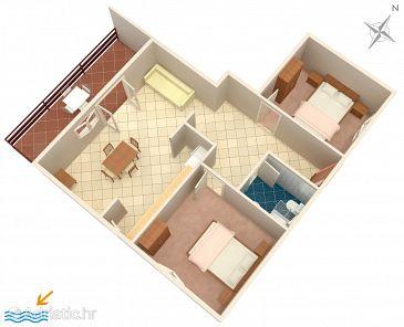 Apartment A-219-c - Apartments Prižba (Korčula) - 219