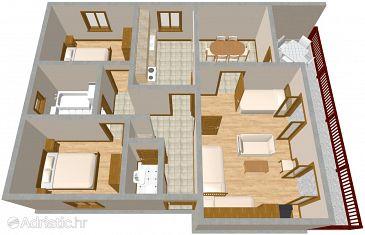 Apartment A-2190-a - Apartments Žaborić (Šibenik) - 2190