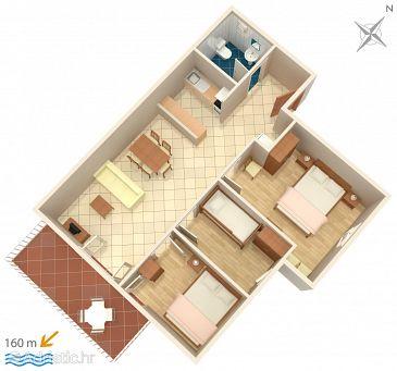 Apartment A-2193-a - Apartments Jadrija (Šibenik) - 2193