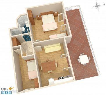 Apartment A-2194-b - Apartments Uvala Ljubljeva (Trogir) - 2194