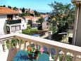 Balcony - view - Apartment A-2198-b - Apartments Mali Lošinj (Lošinj) - 2198