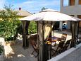 Courtyard Mali Lošinj (Lošinj) - Accommodation 2198 - Apartments with pebble beach.