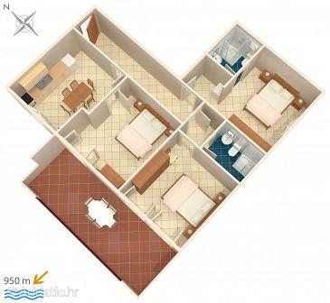 Apartment A-2201-a - Apartments Valbandon (Fažana) - 2201