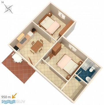 Apartment A-2201-d - Apartments Valbandon (Fažana) - 2201