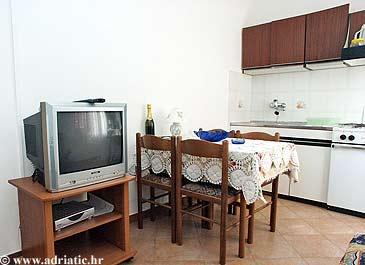 Rovinj, Dining room u smještaju tipa apartment, dopusteni kucni ljubimci.