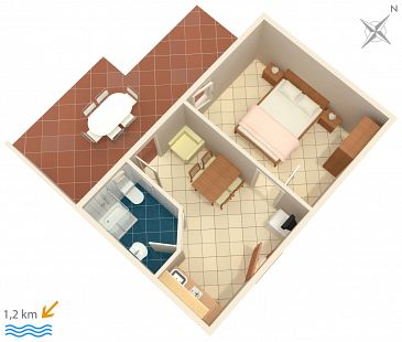 Apartment A-2226-a - Apartments Rovinj (Rovinj) - 2226