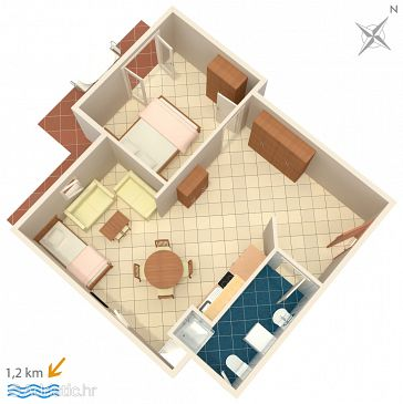 Apartment A-2226-b - Apartments Rovinj (Rovinj) - 2226
