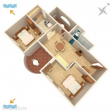 Apartment A-2257-c - Apartments and Rooms Banjole (Pula) - 2257
