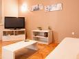 Banjole, Living room u smještaju tipa apartment, WIFI.